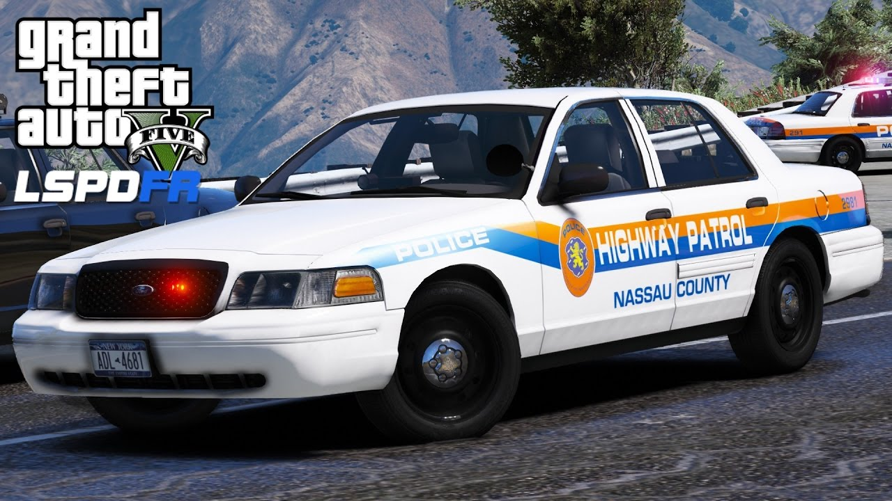 gta 5 lspdfr police mod 433 nassau county police department highway patrol new york patrol. Black Bedroom Furniture Sets. Home Design Ideas