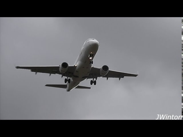 Strong Northerly Crosswind action at Newcastle Airport | September 2020