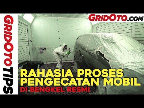 Proses Pengecatan Mobil di Bengkel Resmi I GridOto Tips