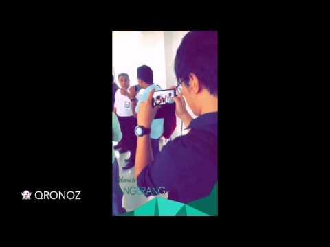 QRNZ Snapchat Story - 151215 - #GAbehindTheScene