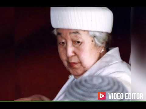 香淳皇后の晩年(97年の御生涯)Empress Kōjun🇯🇵