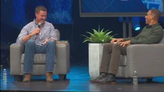 Rock Church - Pastor Miles with Philip Rivers Los Angeles Chargers
