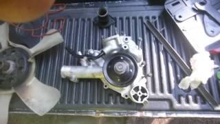 changing water pump 2010 ram 1500 laramie sport 5 7l hemi