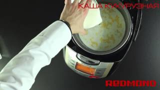 Кукурузная каша в мультиварке REDMOND RMC-M4502