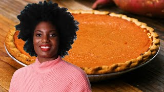 Aunt Vivian's Sweet Potato Pie