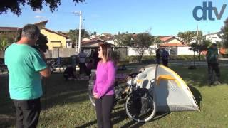Ciclista de Taubaté realiza viagem de bicicleta pela America do Sul a partir de agosto