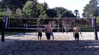 Beach Volleyball Training Game 22-08-13