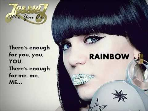 RAINBOW - Jessie J - WITH LYRICS.