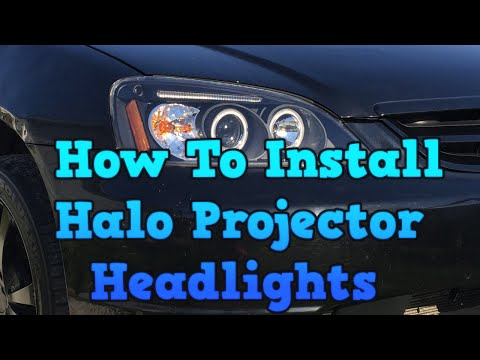 2002 Honda Civic - How To Install Halo Projector Headlights