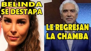 Belinda apoya a López Obrador y Ricardo Alemán regresa a Canal Once TV