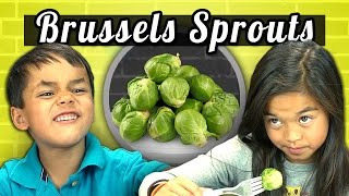 KIDS vs. FOOD #4 - BRUSSELS SPROUTS