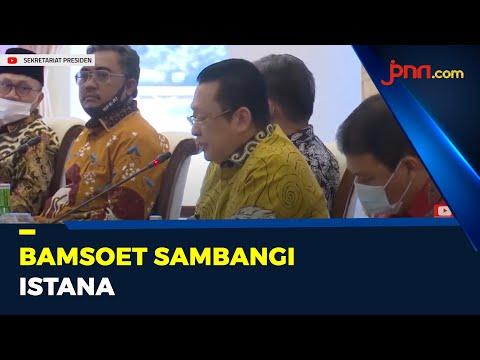 Pimpinan MPR Bambang Soesatyo Sambangi Istana
