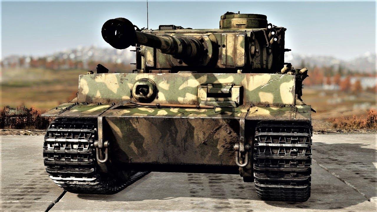 German WWII Combo   Tiger H1 & Do 217 M-1 (War Thunder)