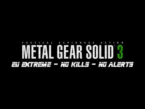 [Challenge] Metal Gear Solid 3 HD - EU Extreme - No Kills - No Alerts