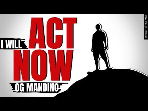 I WILL ACT NOW ⧨Og Mandino.