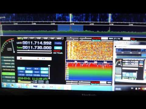 Белорусское радио KSDA-AWR GUAM 11 UTC 11730 Кгц 01 марта 2016 года
