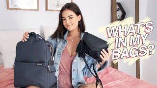 What's In My Bags? // purse + camera bag + gym bag | Reese Regan