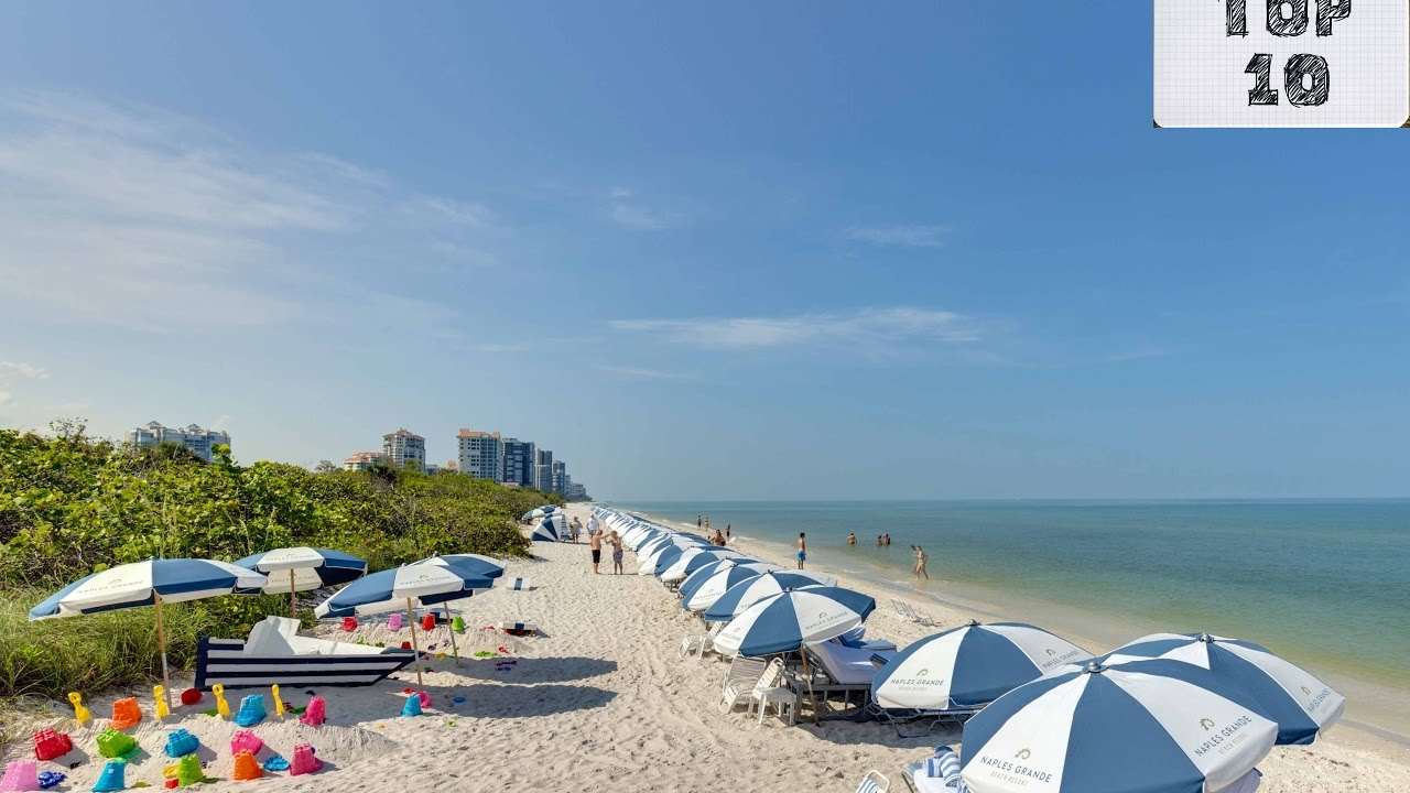 Top 10 Most Beautiful Florida Beaches To Visit Youtube
