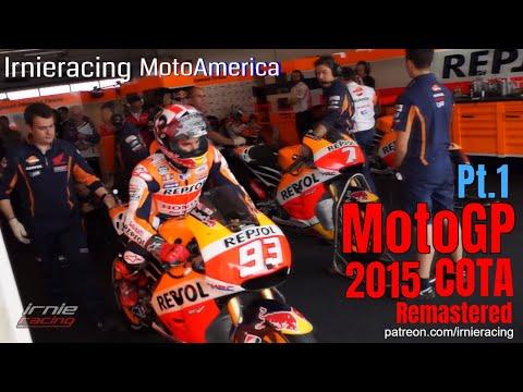 MotoGP America Pt.1 - COTA MotoAmerica 2015 | Irnieracing Remastered 1440p50