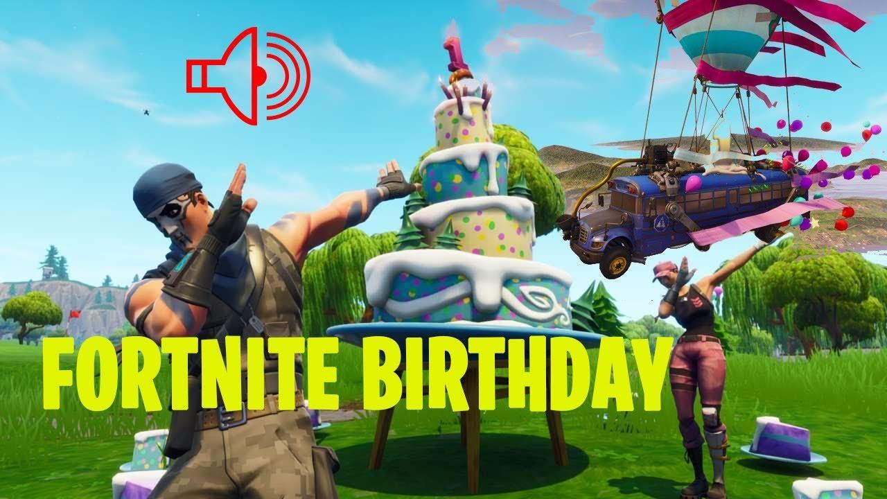 new happy birthday fortnite song - fortnite happy birthday pictures