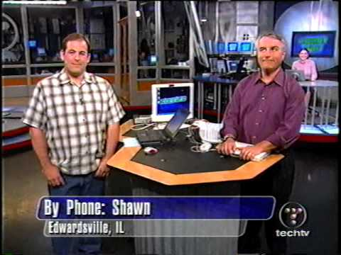The Screen Savers - On TechLive Set - September 9, 2002 - 90 Min Episode!