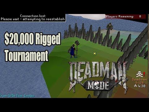 Runescape $20,000 Deadman Tournament Rigged