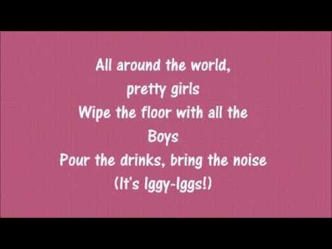 Britney Spears & Iggy Azalea - Pretty Girls (LYRICS)