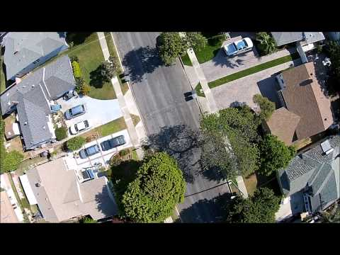 Drone flying over City of Torrance 2014