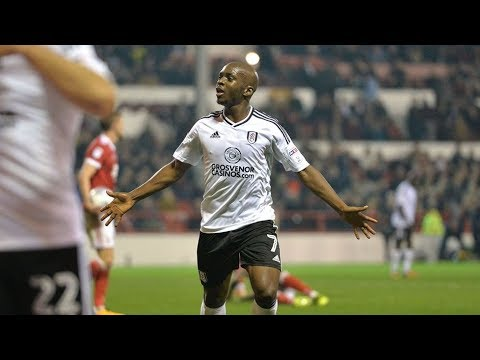 Best of Neeskens Kebano with Fulham (goals, assists, skills).