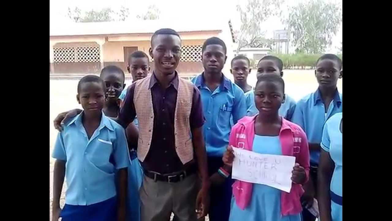 Hello Hunter School Greetings From Ghana Youtube