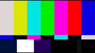 Television Color Bars Test Pattern NTSC HD PAL Version 2
