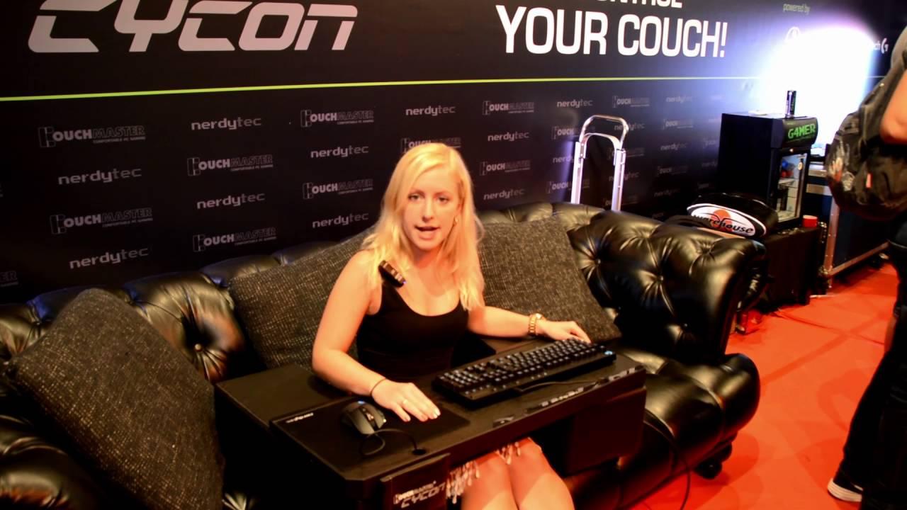 nerdytec - Couchmaster Cycon @ Gamescom - YouTube