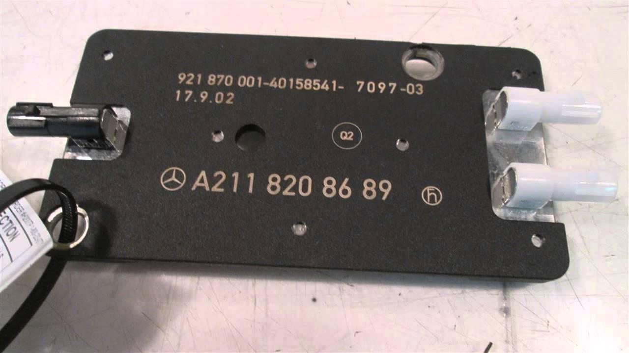 2003 mercedes e500 antenna amplifier 2118208689 mbiparts