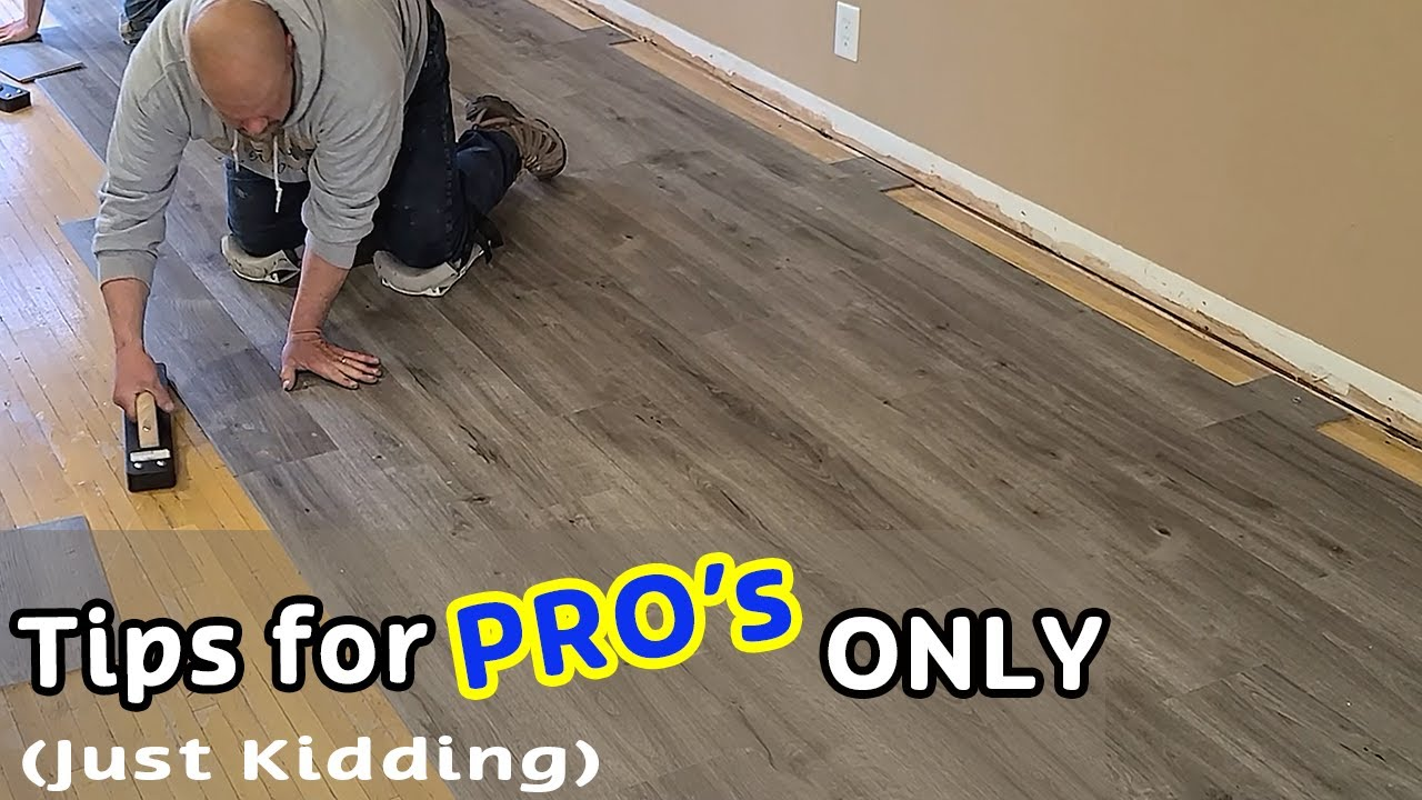 Installed Vinyl Plank From Costco For, Costco Laminate Flooring Installation Cost