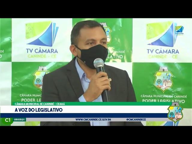 QUINTA SESSÃO ORDINÁRIA DA CÂMARA MUNICIPAL DE CANINDÉ