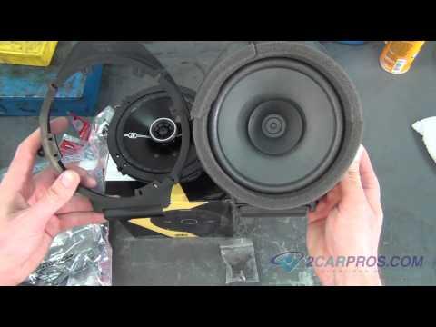 Rear Door Panel Removal & Speaker Replacement Chevrolet Silverado 2007-2013