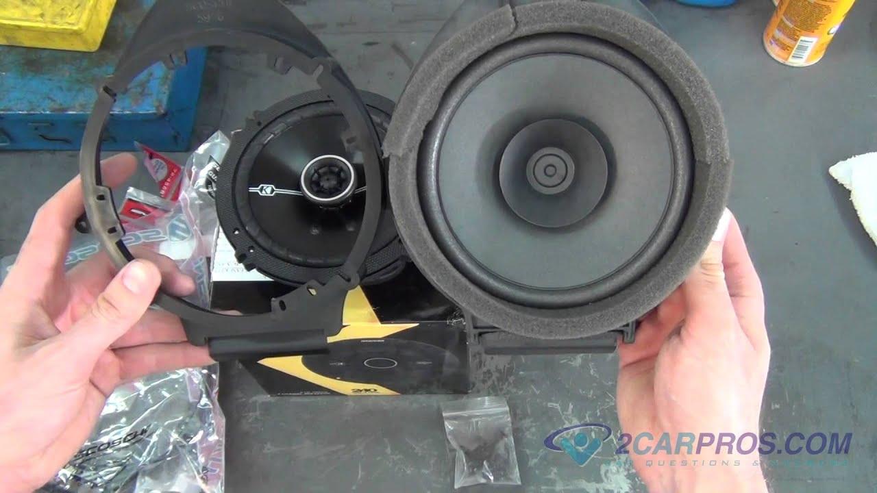 medium resolution of rear door panel removal speaker replacement chevrolet silverado 2007 2013 youtube