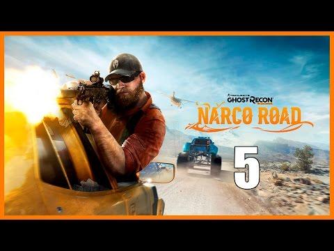 Ghost Recon Wildlands DLC Narco Road - Parte 5 Español - Walkthrough / Let's Play