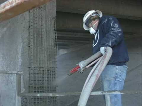 Bridge Repair Gunite Shotcrete Concrete Repair Cyclone