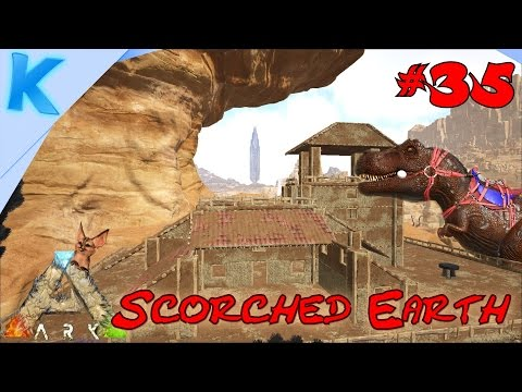 Ark - Scorched Earth - Ep 34 35 PERFECT REX TEMMEN! Super Jerboa villa