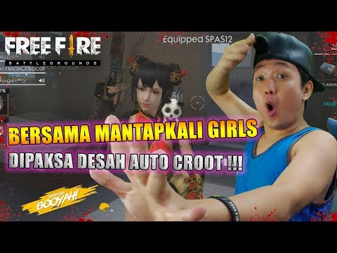 PUS RANK BERSAMA MANTAPKALI GIRLS DIPAKSA DESAH AUTO BOOYAH - GARENA FREE FIRE