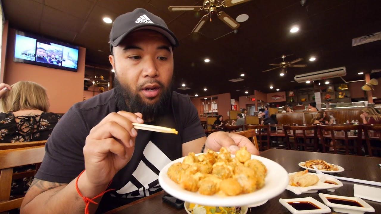 All You Can Eat Sushi At Sushi Kingdom Jl Jupiter Vlog Youtube