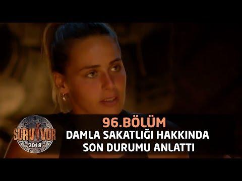 Survivor 2018 | 96.Bölüm |  Damla Sakatlığı Hakkında Son Durumu Anlattı