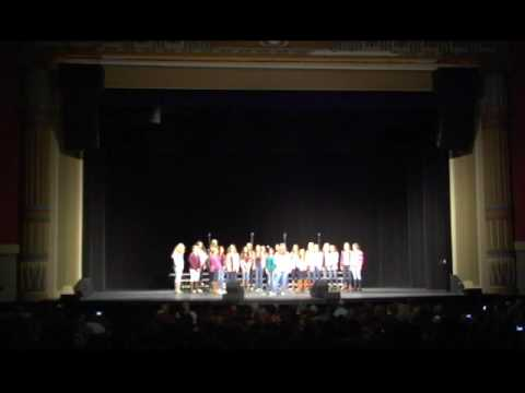 2016 Voices of the (603) A cappella Festival - Under Pressure - Timberlane Regional Middle School