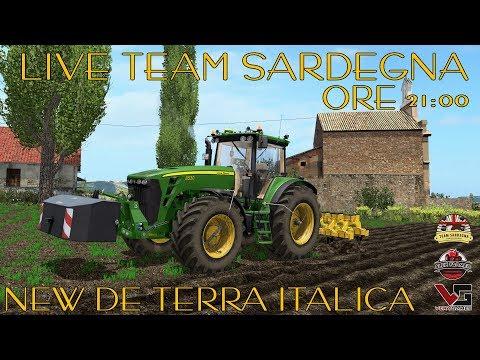 LIVE FANS CON IL TEAM SARDEGNA - NUOVA DE TERRA ITALICA | ALEX FARMER