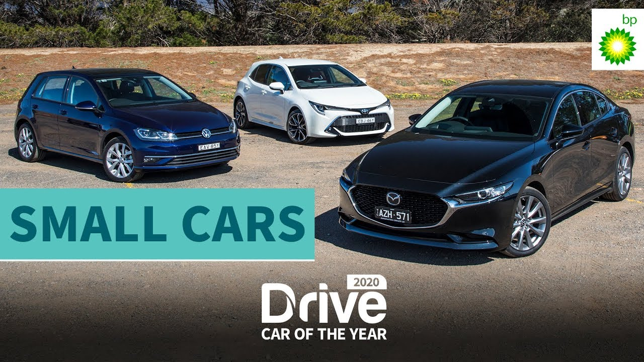Best Small Cars 2020.2020 Best Small Car Volkswagen Golf Toyota Corolla Mazda3 2020 Drive Car Of The Year