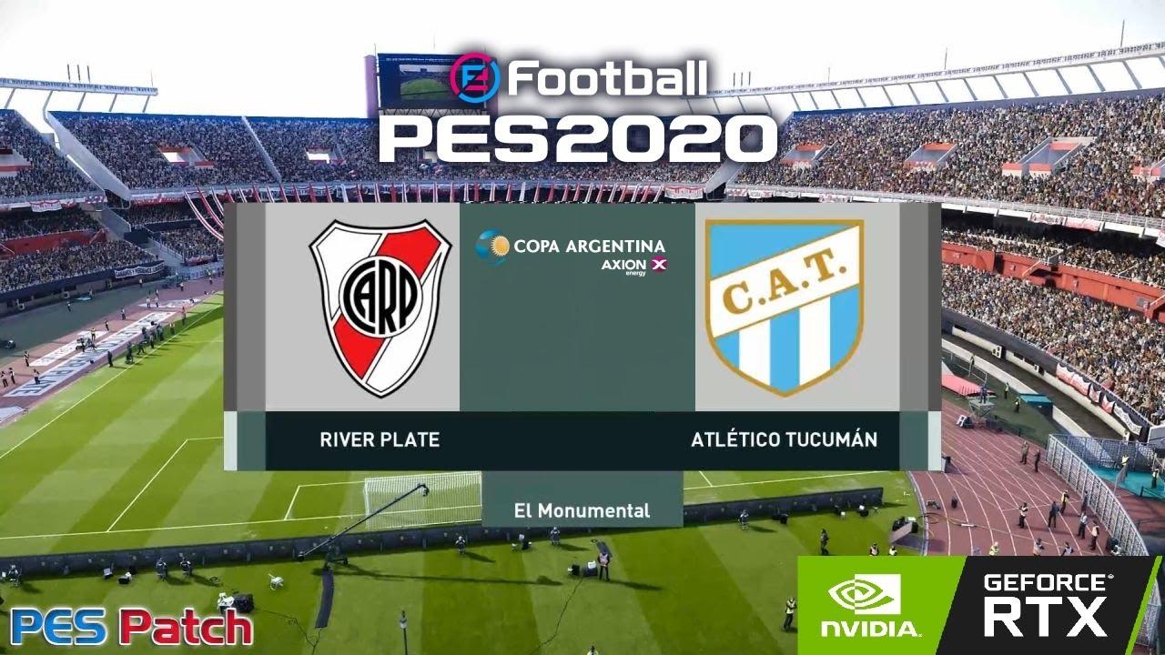 Pes 2020 // River vs. Atlético Tucumán // Copa Superliga Argentina 2020