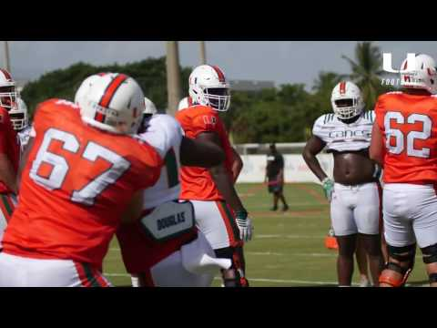 One on one with DJ Johnson | Canes Football