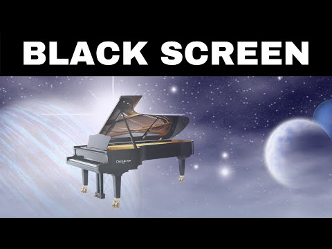 Relaxing Music for Sleeping BLACK SCREEN | DREAMY PIANO | Calming Sleep Music