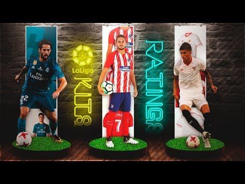 FIFA 18 Liga Santander Kits & Ratings